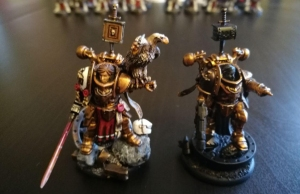 2 Canoness with Chaos Backpacks.